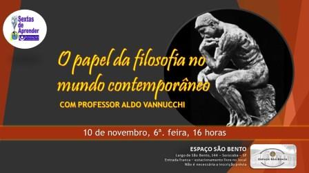 O papel da filosofia no mundo contemporaneo 10 nov 2017 web